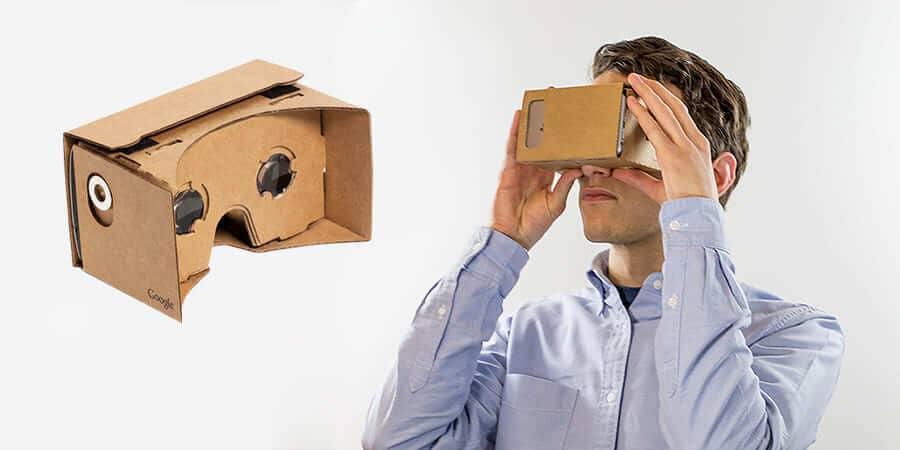 funcionamiento gafas cartón google vr